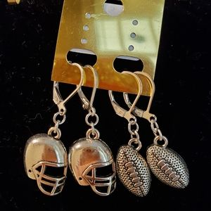 Football Theme Earrings l